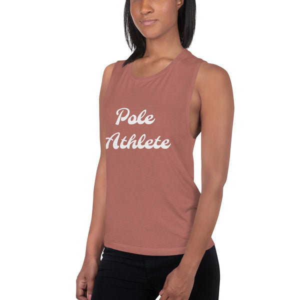 """Pole Athlete"" Muscle Tank"
