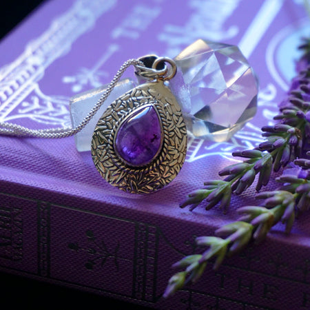 The Lavender Pendant