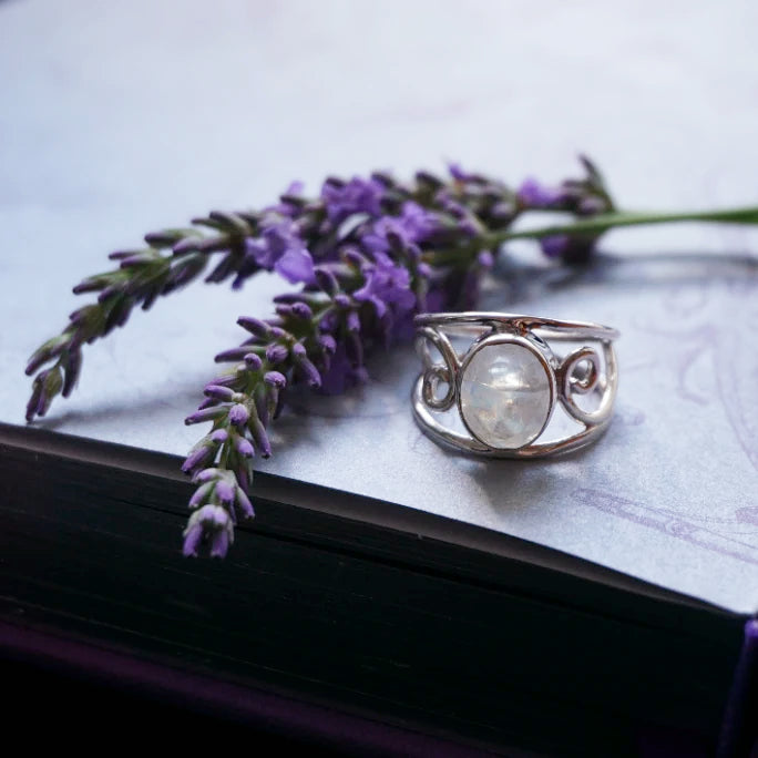 Luna's Moonstone Ring