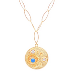 Bling Medallion Necklace