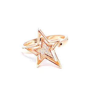 Plain Rock Star Ring