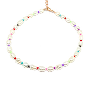Pearl Multicolor Anklet