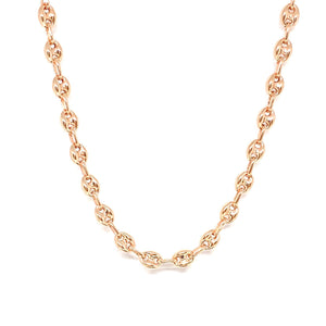 Oval Thick Chain Necklace