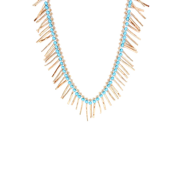 Sticks Turquoise Necklace