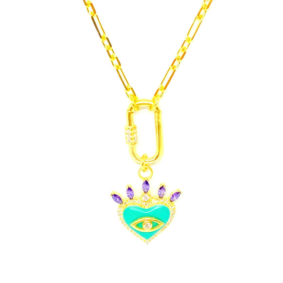 Olivia Mint Necklace
