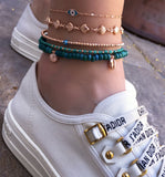 Multiple Oyster Anklet