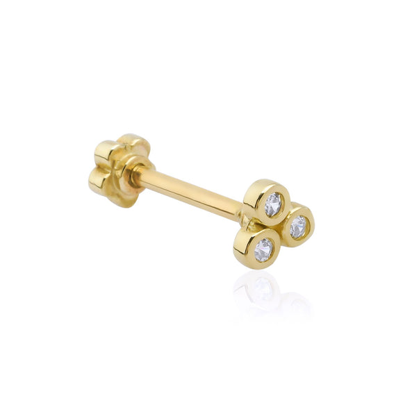 Three Dots Gold Piercing