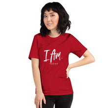 "Load image into Gallery viewer, Short-Sleeve Unisex ""I AM"" T-Shirt"