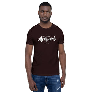"Short-Sleeve Unisex ""Intentional"" T-Shirt"