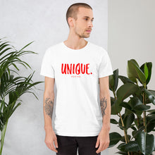 "Load image into Gallery viewer, Short-Sleeve Unisex ""Unique T-Shirt"