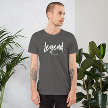 "Load image into Gallery viewer, Short-Sleeve Unisex ""Legend"" T-Shirt"
