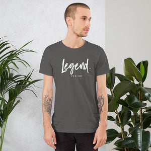 "Short-Sleeve Unisex ""Legend"" T-Shirt"