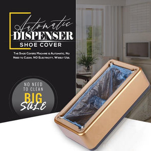 CleanStep™ - Automatic Shoe Cover Dispenser