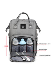 Load image into Gallery viewer, Genius USB Diaper Bag