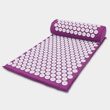 Load image into Gallery viewer, AasanaMat™- The Ultimate Acupressure Therapy Mat + Pillow