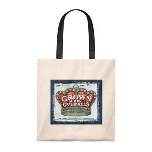 Tote Bag - Vintage Crown Overall