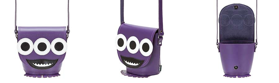 Socket Horror Handmade Leather Novelty Handbag