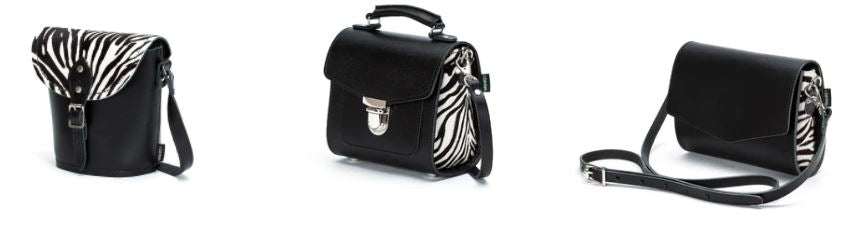 Zatchels Zebra-Print Collection