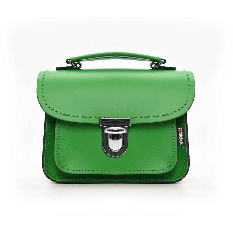 Handmade Leather Luna Bag - Green