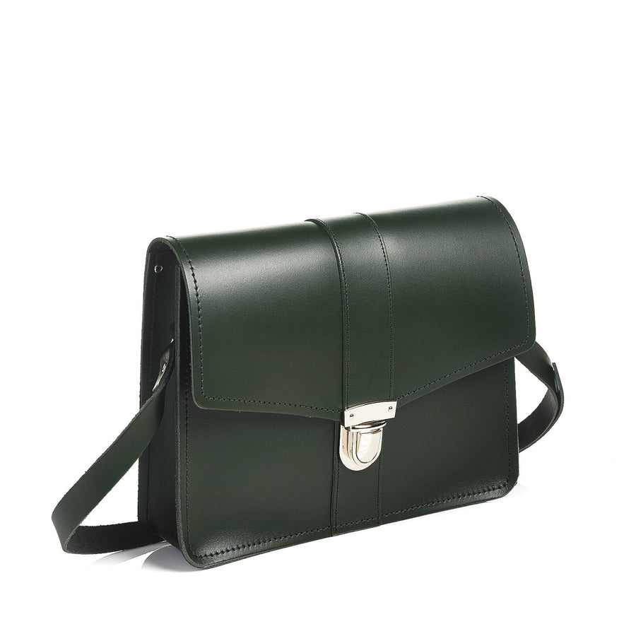Ivy Green Leather Shoulder Bag - Shoulder Bag - Zatchels