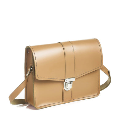 Iced Coffee Leather Shoulder Bag - Shoulder Bag - Zatchels