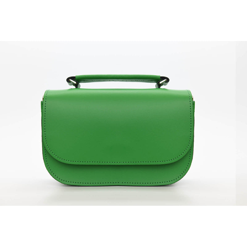 Aura Handmade Leather Bag - Green