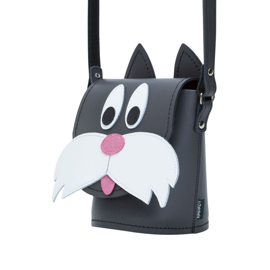 Chester Cat Leather Bag - Novelty Bag - Zatchels