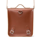 Chestnut Leather City Backpack - Backpack - Zatchels