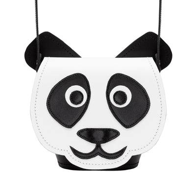 Chi Chi Panda Leather Bag - Novelty Bag - Zatchels
