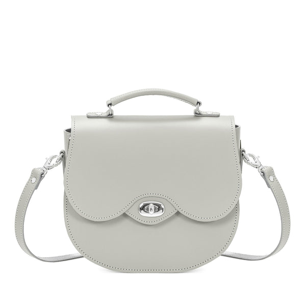 Ghost Leather Twist Lock Saddle Bag - Saddle Bag - Zatchels