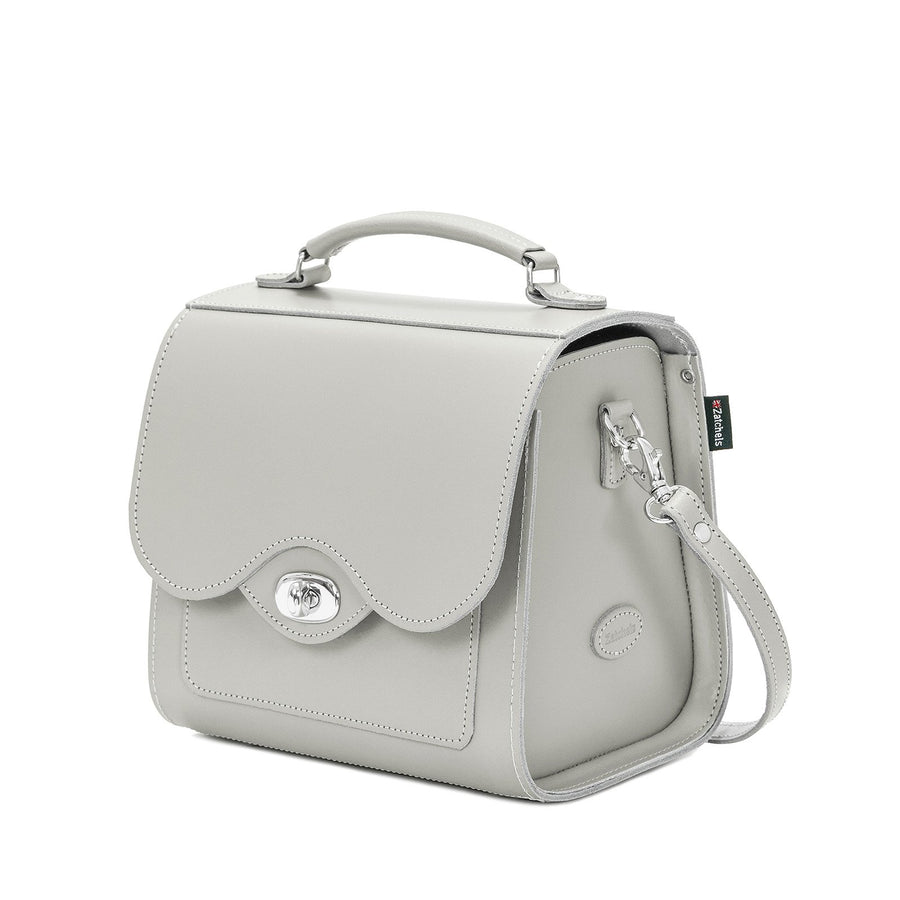 Ghost Leather Twist Lock Sugarcube - Sugarcube - Zatchels