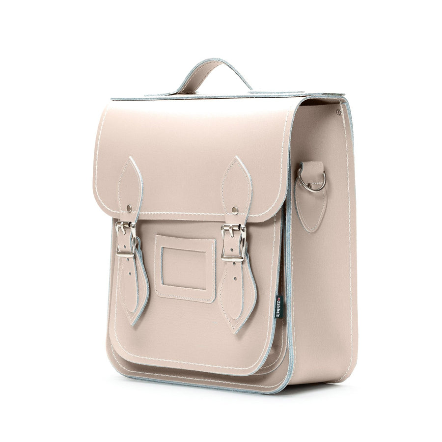 Iced Coffee Leather City Backpack - Backpack - Zatchels