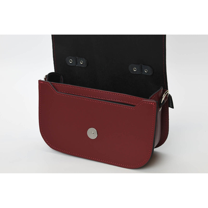 Aura Handmade Leather Bag - Oxblood Red