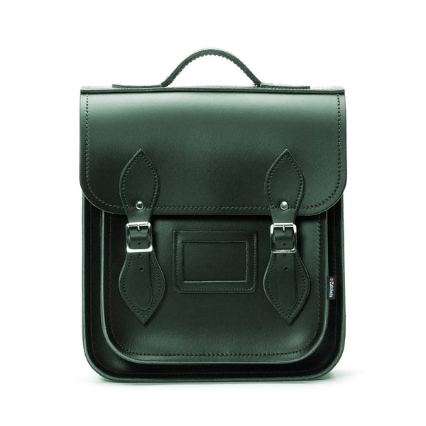 Ivy Green Leather City Backpack - Backpack - Zatchels