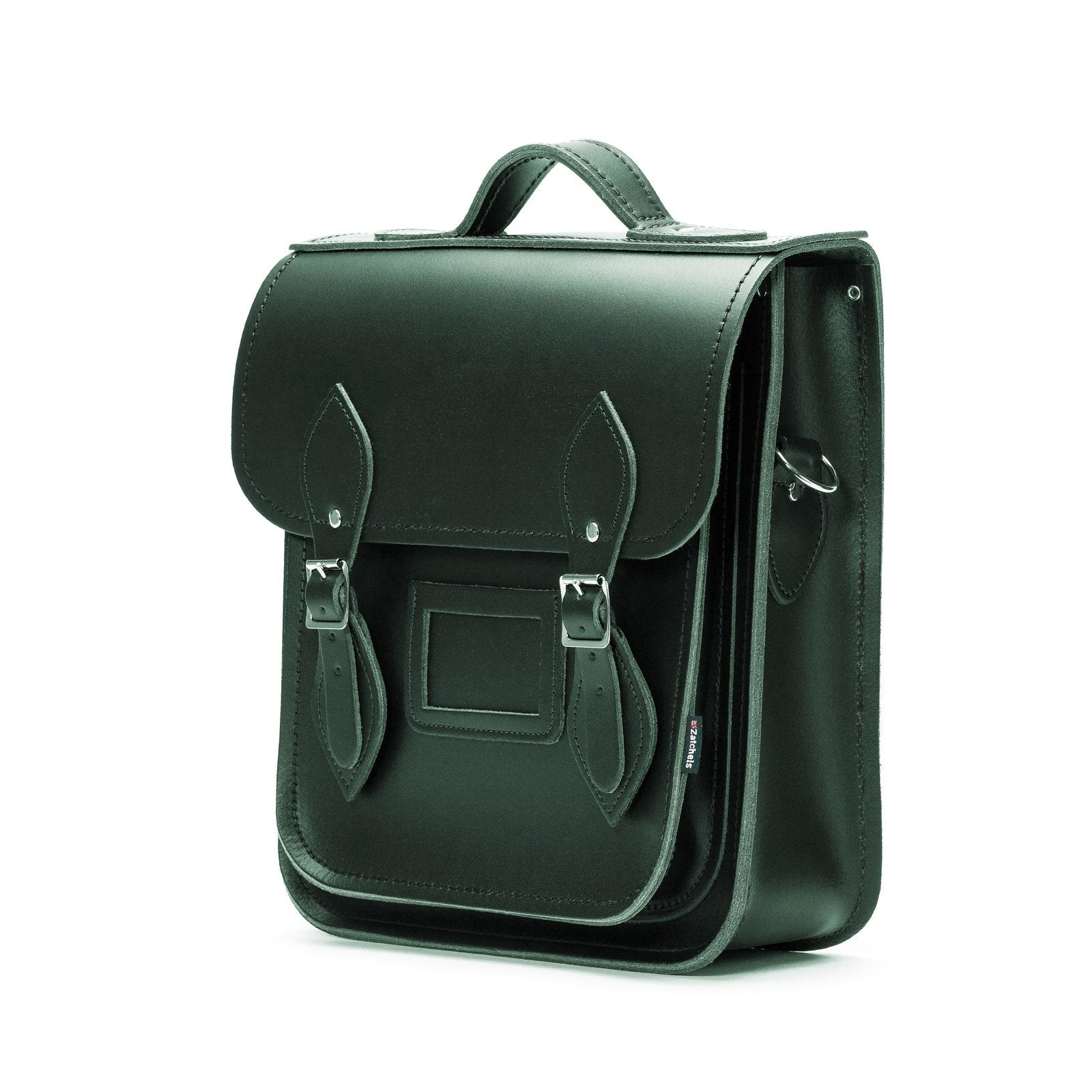 Handmade Leather City Backpack - Ivy Green