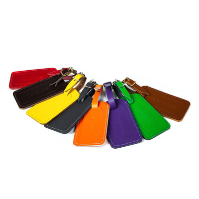 Leather Luggage Tag - Accessories - Zatchels