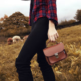 Luna Handmade Leather Bag - Chestnut