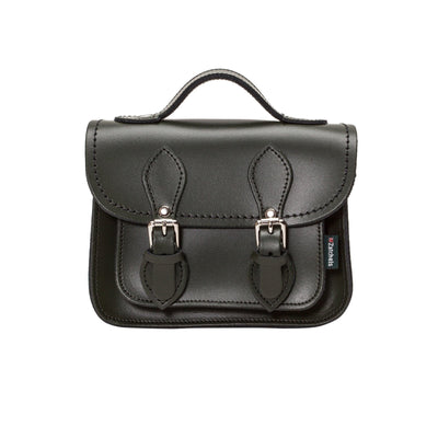Ivy Green Leather Micro Satchel - Micro Satchel - Zatchels