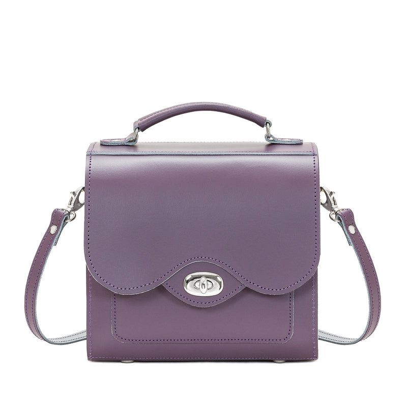 Nile Leather Twist Lock Sugarcube - Sugarcube - Zatchels