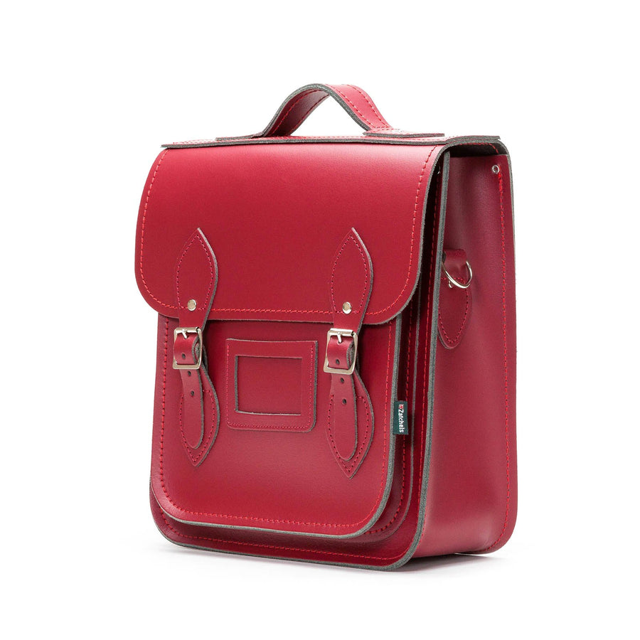 Oxblood Leather City Backpack - Backpack - Zatchels