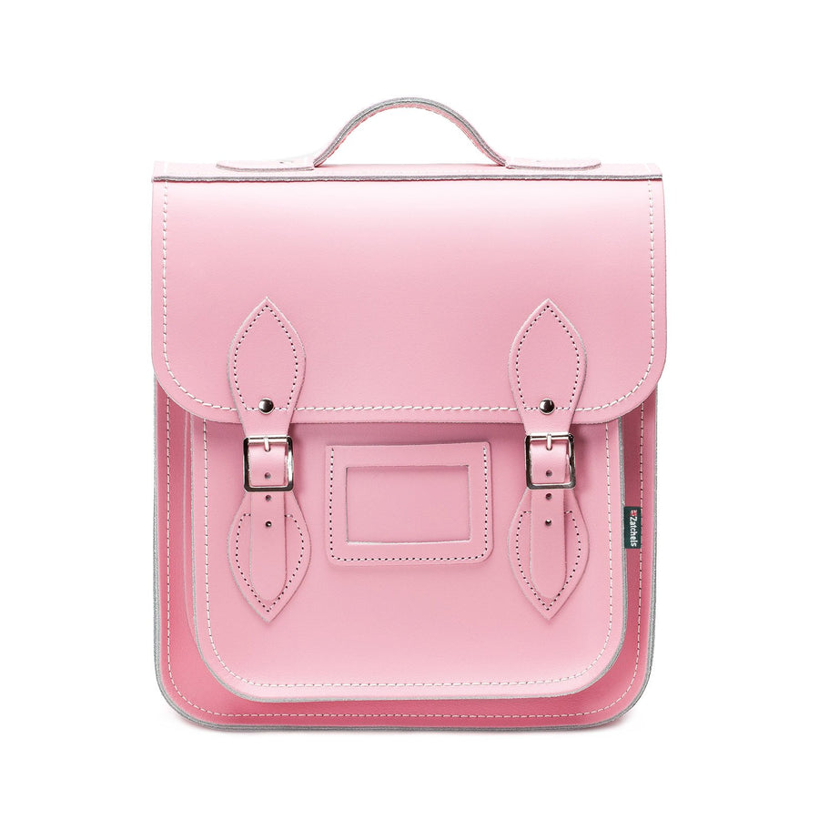 Leather City Backpack - Pastel Pink
