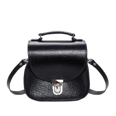 Black Executive Leather Peardrop - Peardrop - Zatchels