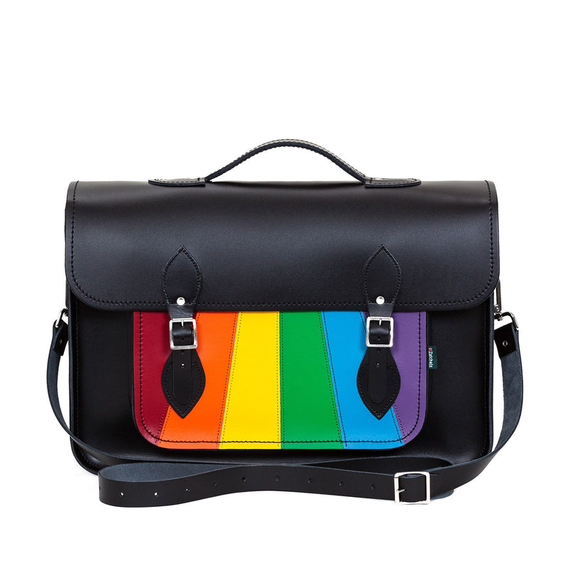 Pride Leather Satchel - Satchel - Zatchels