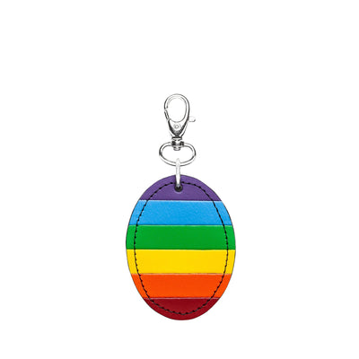 Pride Leather Oval Charm - Accessories - Zatchels