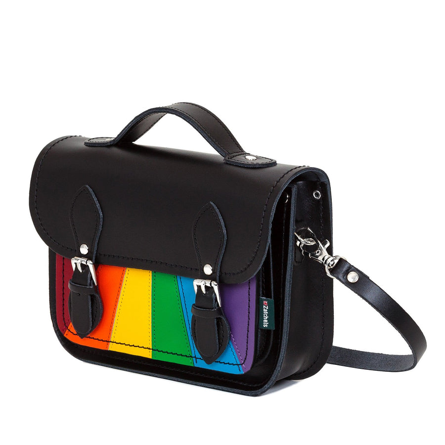 Pride Leather Midi Satchel - Midi Satchel - Zatchels