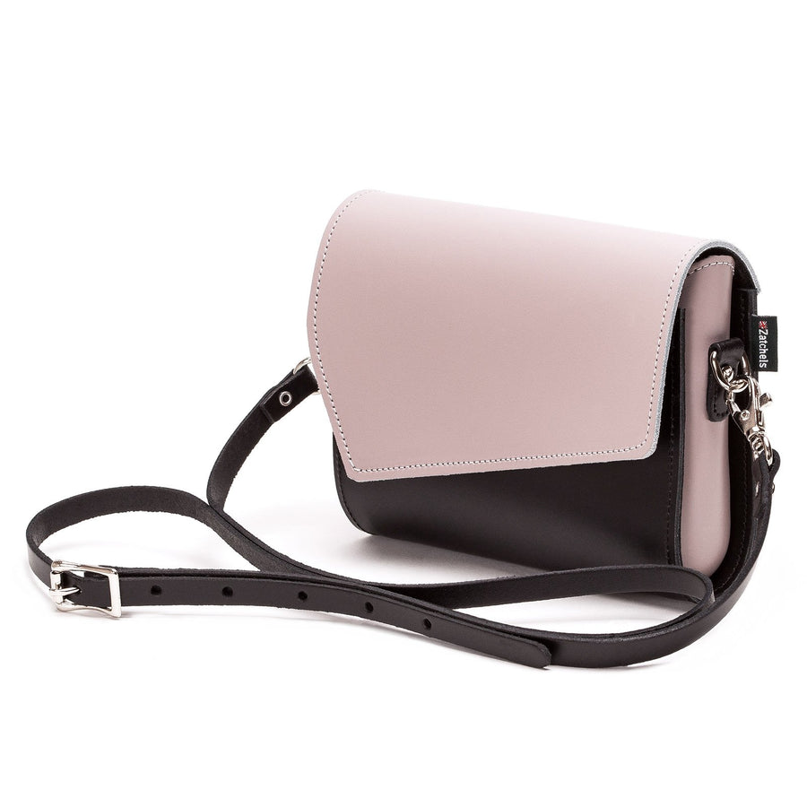Rose Truffle Leather Clutch - Clutch Bag - Zatchels