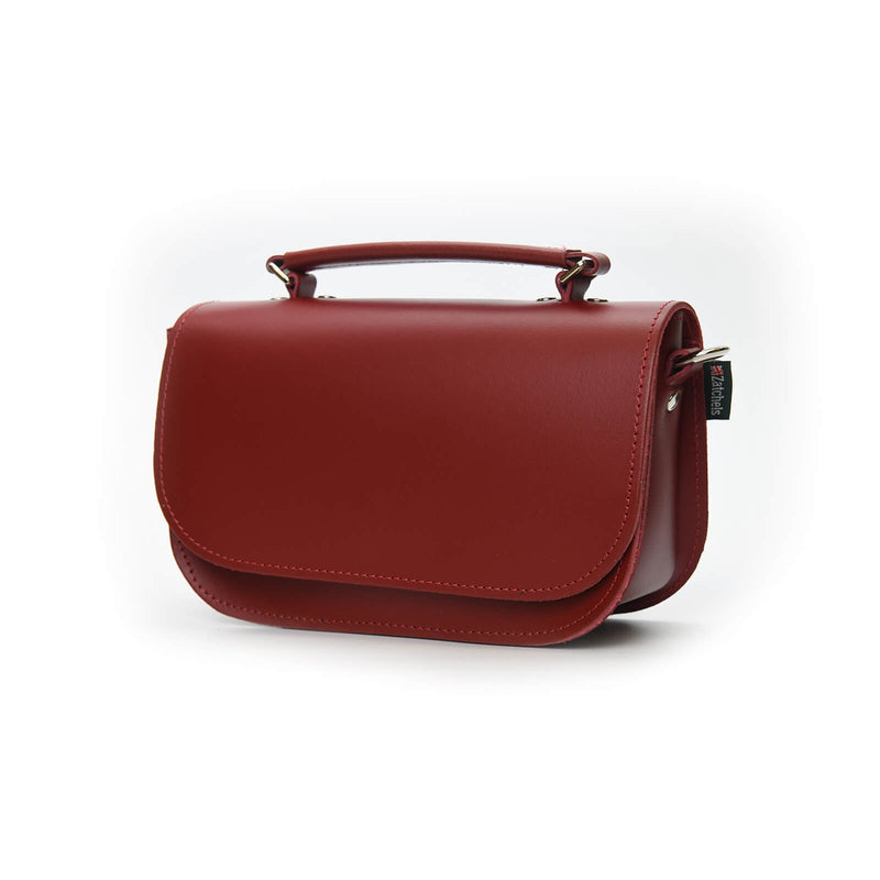 Aura Handmade Leather Bag - Red