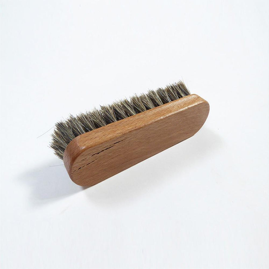 Horse Hair Small Brush - Care Products - Zatchels