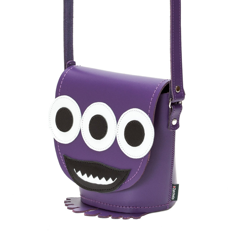 Socket Horror Leather Novelty Bag - Novelty Bag - Zatchels