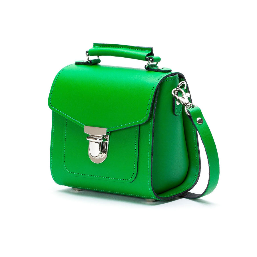 Green Leather Sugarcube - Sugarcube - Zatchels